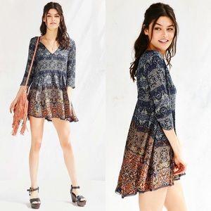 Anthropologie Ecote Willow Bohemian Frock Dress